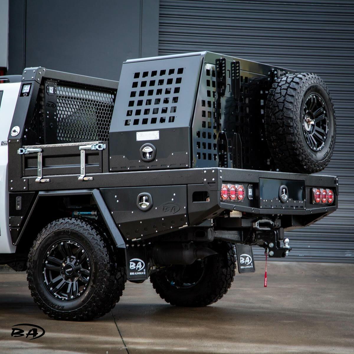 Premium Custom Ute Trays Melbourne Boss Aluminium