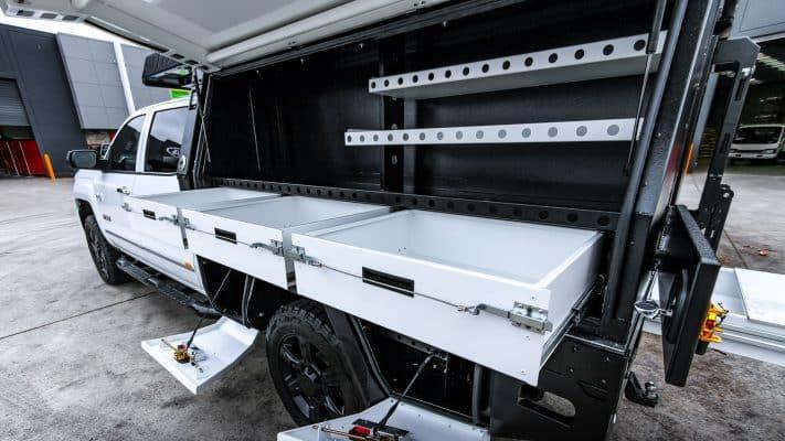 Boss Aluminium Chevy Silverado Toolbox