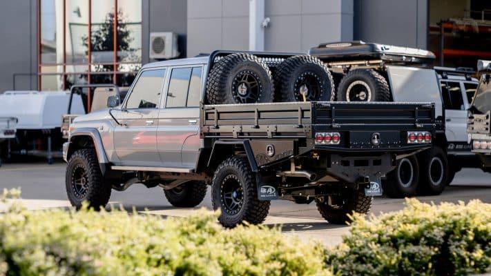 JMACX 4495 chassis extension boss aluminium tray