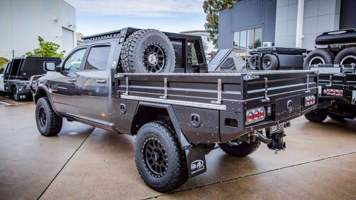 Boss Aluminium Premium Tray Dodge RAM