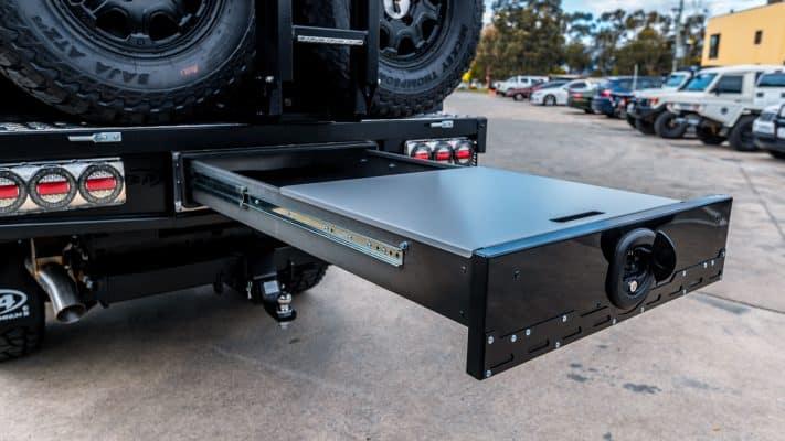 m-spec under tray draw