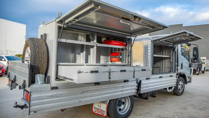 Boss Aluminium Truck Toolboxes