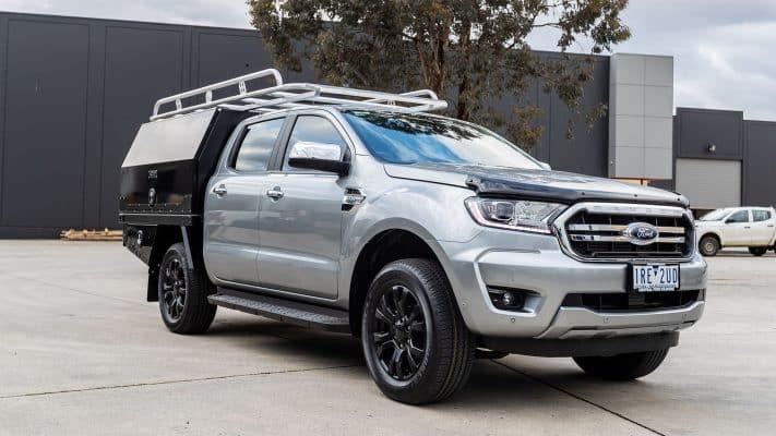 Boss Aluminium Toolbox Ford Ranger
