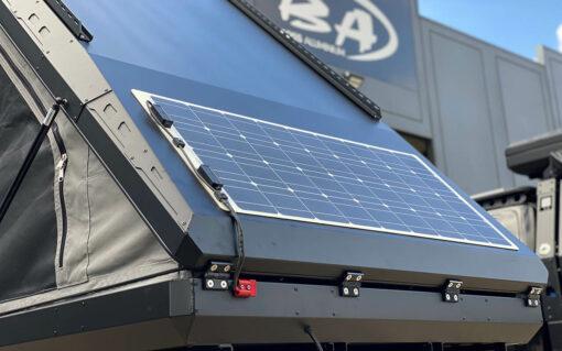 w Solar panel on boss rt