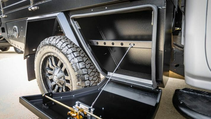 Front Under Body Toolbox