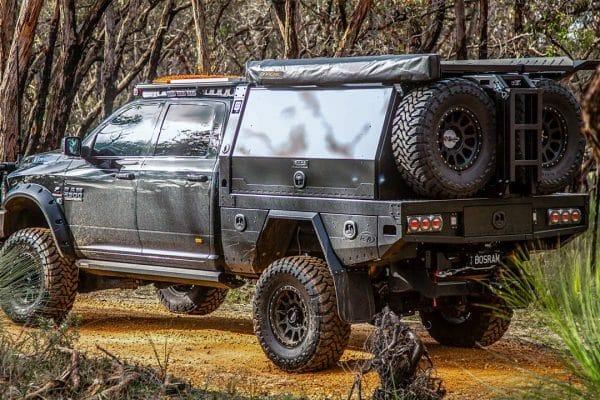 Dodge RAM Aluminium Canopy