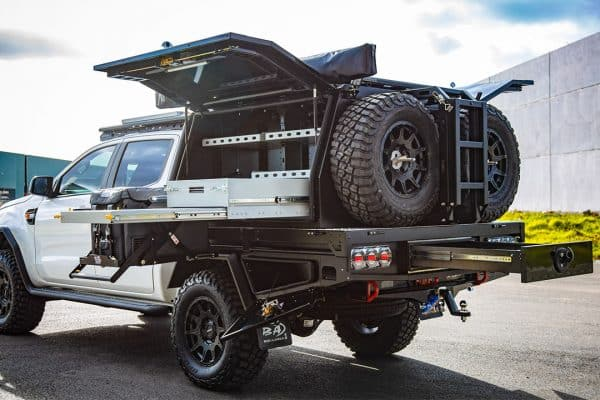 Dual Cab Ute Canopy Ford Ranger
