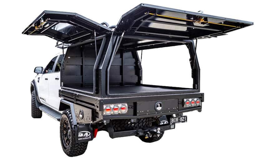 Ford Ranger door canopy white